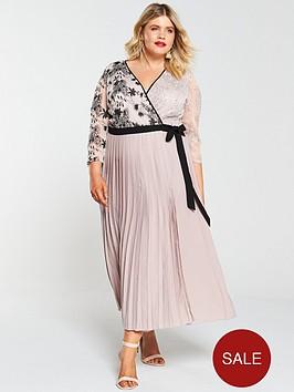 little-mistress-curve-vintage-lace-and-sequin-wrap-dress-mink