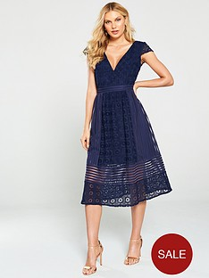 little-mistress-crochet-lace-midi-dress-navy