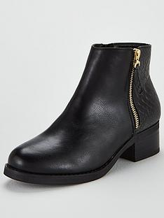miss-kg-janice-side-zip-ankle-boot-black
