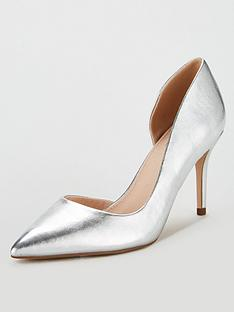 miss-kg-celia-wide-fit-dorsay-court-shoes-silver