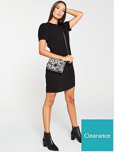 v-by-very-short-sleeve-tunic-dress-black
