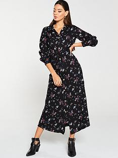 v-by-very-shirt-dress-floral
