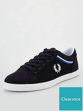 fred-perry-baseline-microfibre-trainer-black