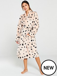 v-by-very-printed-star-supersoft-robe-nudeblack