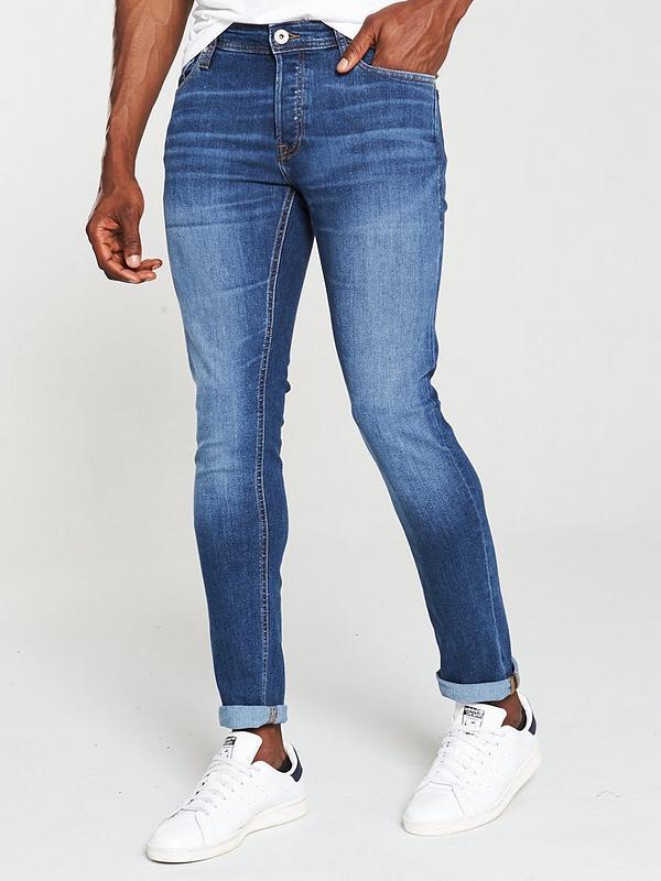 Slim Fit Heavy Used Wash JACK /& JONES Jeans Glenn Original At 916