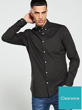 jack-jones-premium-chest-logo-shirt-black