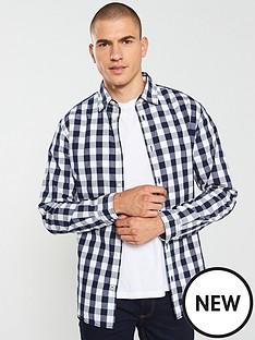 jack-jones-gingham-shirt-navywhite