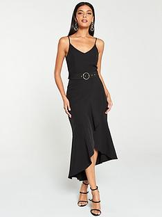 v-by-very-belted-scuba-midi-dress-black