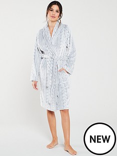 v-by-very-shawl-frosted-and-carved-cable-robe-charcoal
