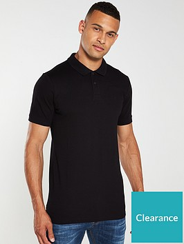 jack-jones-basic-polo-shirt-black
