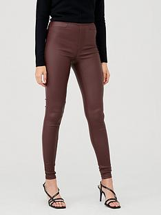 v-by-very-coated-jegging-oxbloodnbsp