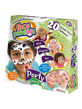 face-paintoos-party-pack