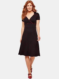 b100e337389 Joe Browns Joe Browns Perfect Polka Dot Jersey Dress