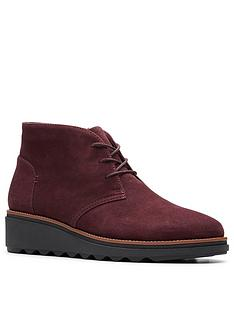 clarks-sharon-hop-wedge-boots-burgundy