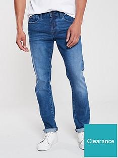 armani-exchange-j13-classic-wash-jeans-blue