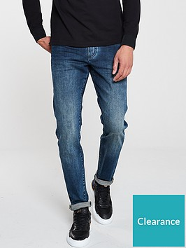 armani-exchange-j13-vintage-wash-jeans-navy