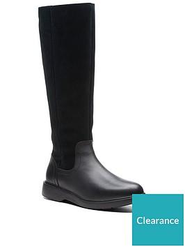 clarks-unstructured-un-eldanbspknee-high-boot-black