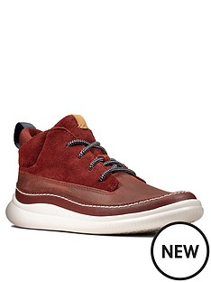 clarks-boys-cloud-air-lace-up-boots-burgundy