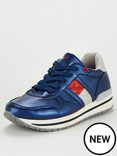 tommy-hilfiger-girls-flag-lace-up-trainers