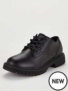 v-by-very-flat-chunky-lace-up-shoes-black