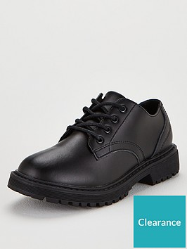 v-by-very-flat-chunky-leather-lace-up-shoes-black