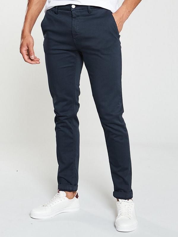 zum halben Preis Markenqualität neueste art Zeumar Chino Trousers - Blue