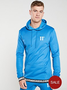 11-degrees-rogue-pull-over-track-top-steel-blue