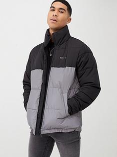 nicce-deca-reflective-jacket-blackgrey