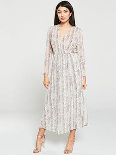 mango-snake-print-midi-dress