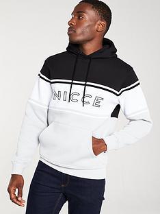 nicce-panel-hoodie-blackwhitegrey