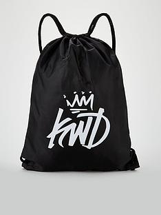 kings-will-dream-frayes-drawstring-bag-black