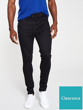 very-man-super-skinny-jeans-black
