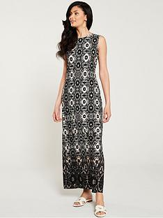 b78ea58a0fb Wallis Tye Dye Maxi Dress - Stone