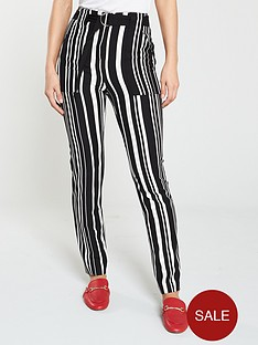 v-by-very-belt-detail-striped-trouser