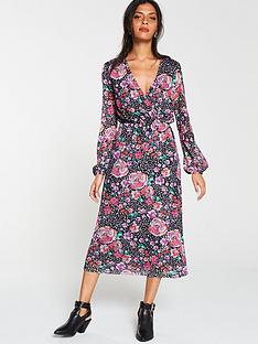 v-by-very-wrap-printed-midi-dress-multi