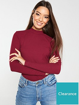 v-by-very-ribbed-turtle-neck-top-berry