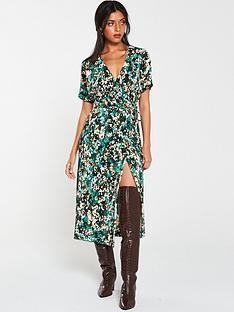 v-by-very-plisse-midi-dress-print