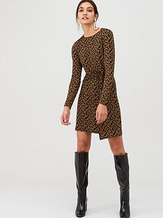 v-by-very-twisted-jersey-mini-dress-animal-print