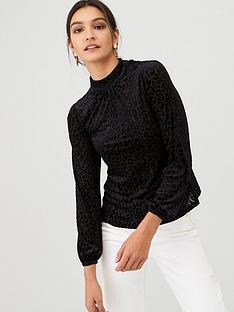 v-by-very-burnout-jersey-animal-blouse-black