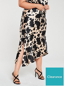 v-by-very-curve-satin-skirt-cow-print
