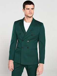 selected-homme-slim-blazer-green