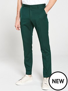 selected-homme-structured-trousers-green