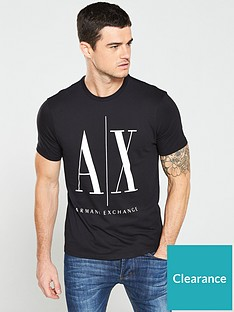 armani-exchange-ax-logo-print-t-shirt-black