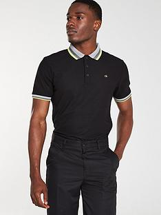calvin-klein-golf-spark-polo-black