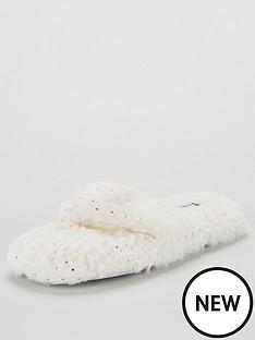 v-by-very-binky-toe-post-slippers-ivory