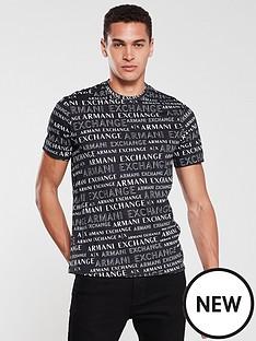 armani-exchange-all-over-logo-print-t-shirt-blackwhite