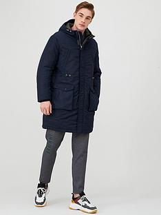armani-exchange-hooded-parka-navy