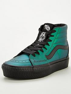 vans-harry-potter-dark-arts-trainers-blackgreen
