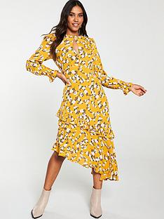 v-by-very-asymmetricnbspruffle-midi-dress-print