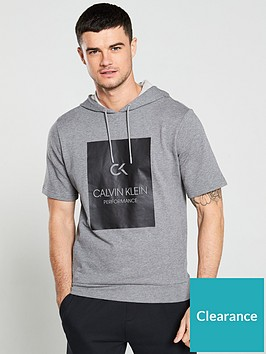 calvin-klein-performance-billboard-short-sleeve-hoodie-grey